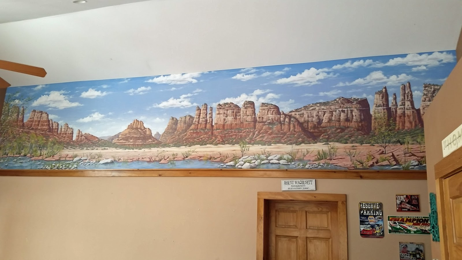 dennis day designs lettering pinstriping murals you can see a few more pictures of this mural by clicking on the