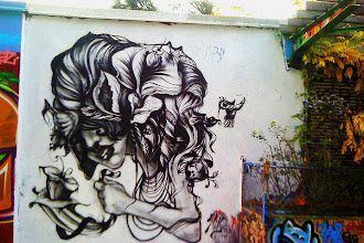 Sunday Street Art : Skio - rue Henri Noguères - Paris 19