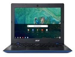 Vista frontal del Acer Chromebook 11