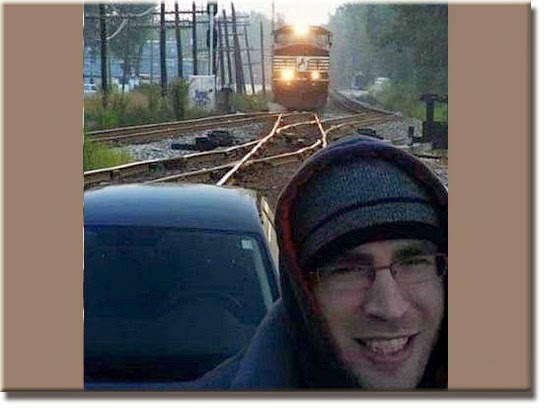 Fail - Selfie Linha do trem