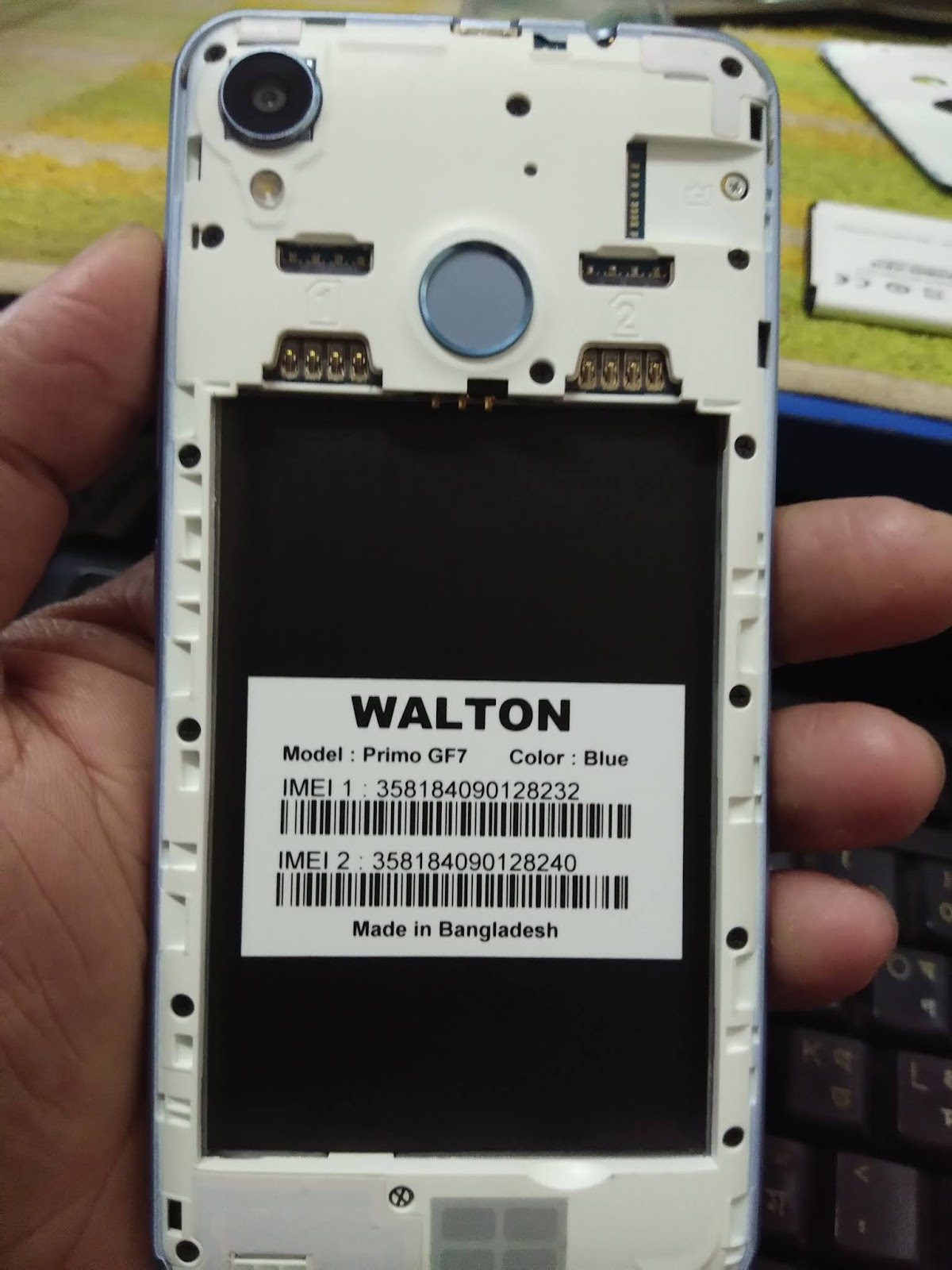 Walton Primo GF7 Customer Care Firmware