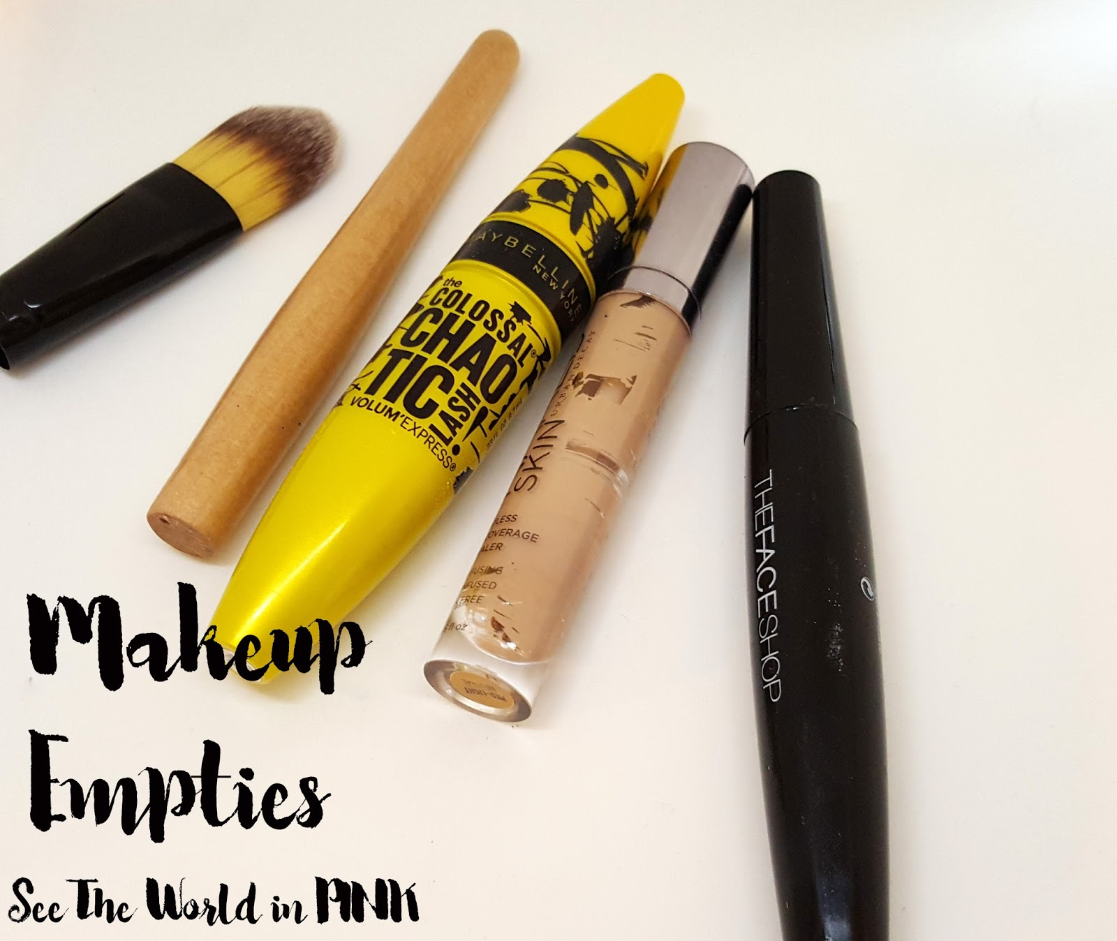 February 2016 Monthly Empties!