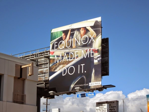 Equinox Made me do it billboard