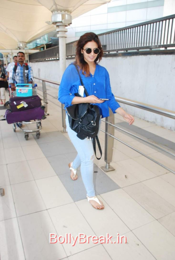 , Bollywood Celebs spotted at Mumbai Airport yesteday.