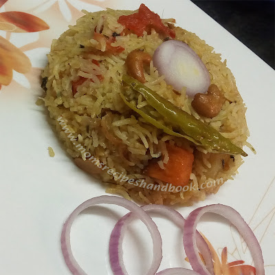 Vegetable Fried Rice Recipe with Kasuri methi How to Make