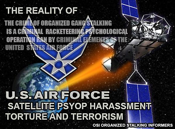 Remote Neural Monitoring Satellite Terrorism: DEW Directed