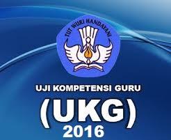 Soal UKG Online 2016