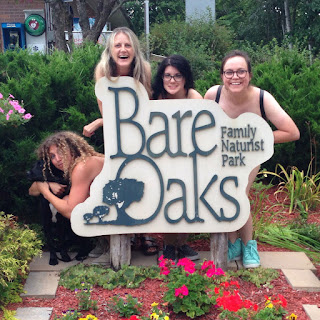 The Merry Janes of Comedy perform naked at Bare Oaks Family Naturist Park