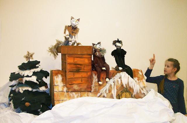 """""""Кошкин дом"""". Автор Марина Князева (Самара) Выставка авторской куклы в Самаре """"Куклы. Эмоции. Чувства."""""""