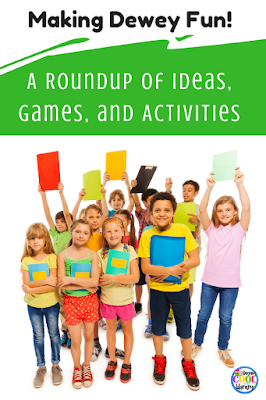 fun games to teach about nonfiction books in the library