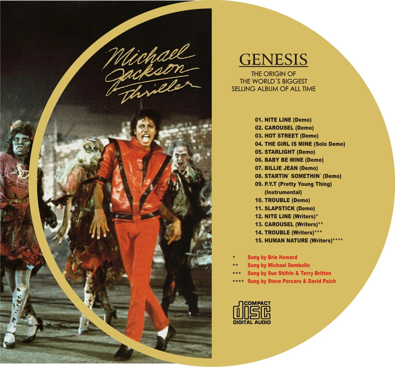BENTLEYFUNK2015: Michael Jackson - ''Thriller Demos ...