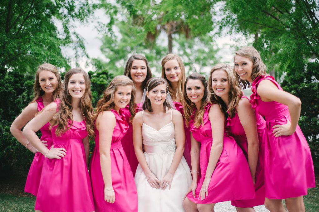 Independent Designer: Real Wedding, Pink Magenta