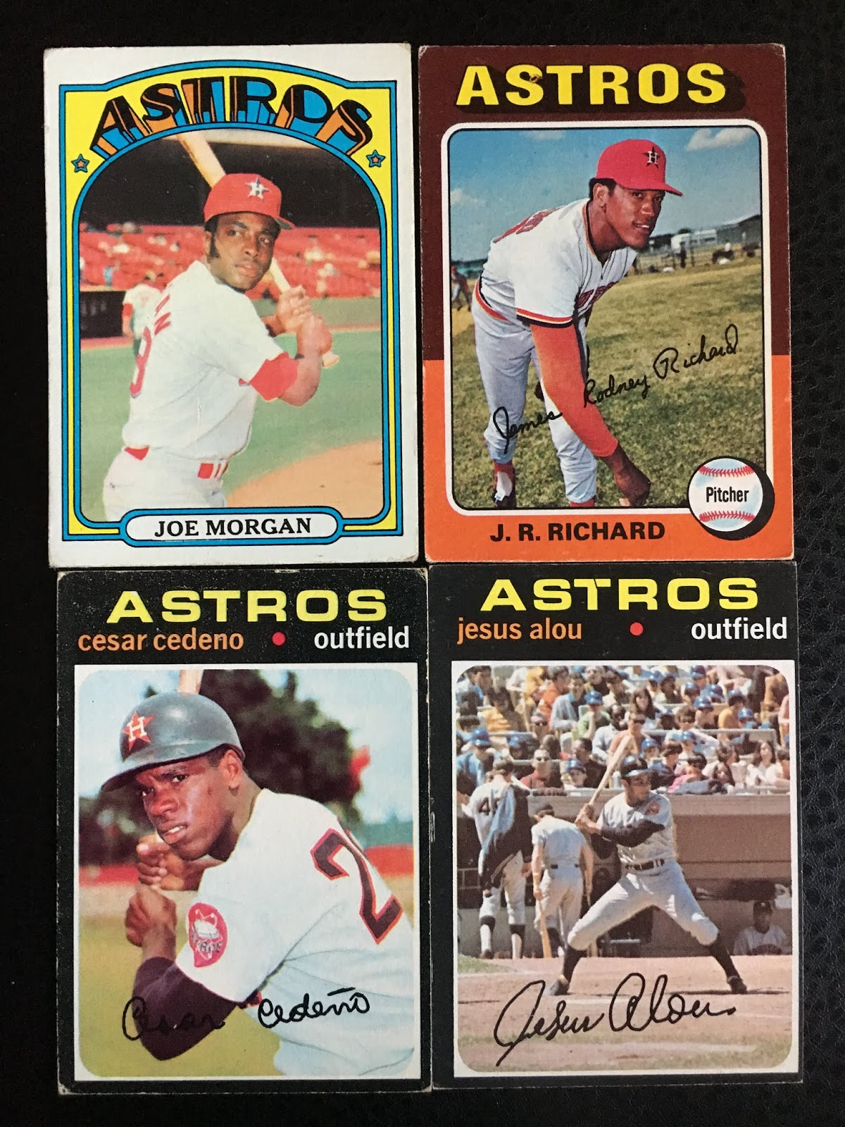88e2aa0f13f The Astros has a plethora of great talent in the 70s ranging from Joe  Morgan and Cesar Cedeno (two future Reds) to young fireballer J.R. Richard.