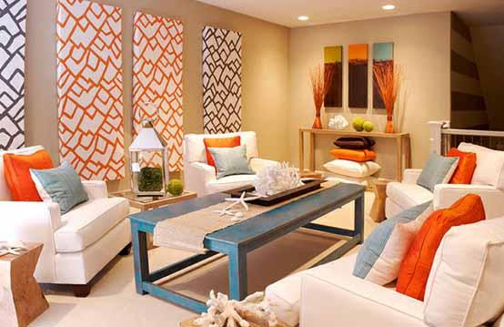 Desain Ruang Tamu Minimalis Full Color Nuansa Ceria Sumber Gambar Digsdigs