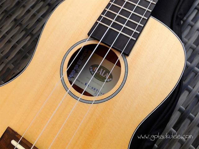 Kala KA-SSTU-C ukulele sound hole