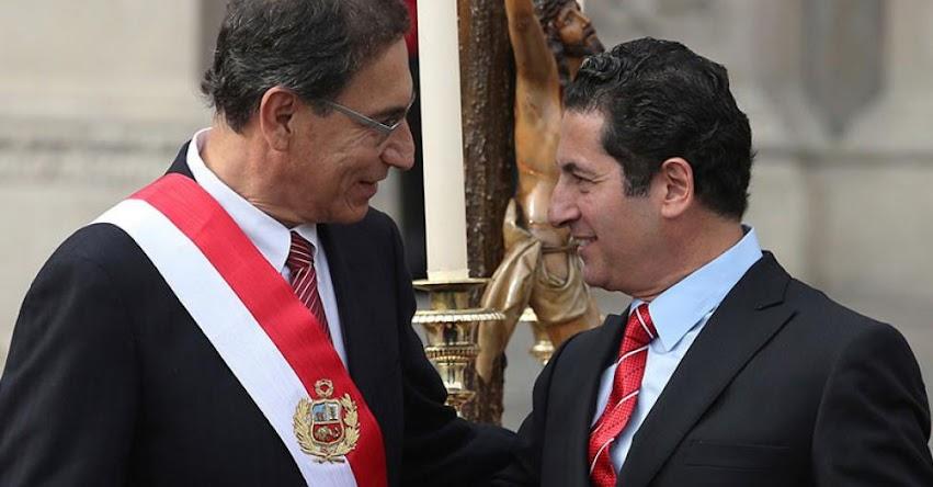 Presidente Martín Vizcarra pide renuncia del Ministro de Justicia Salvador Heresi tras nuevo audio #CNMaudios