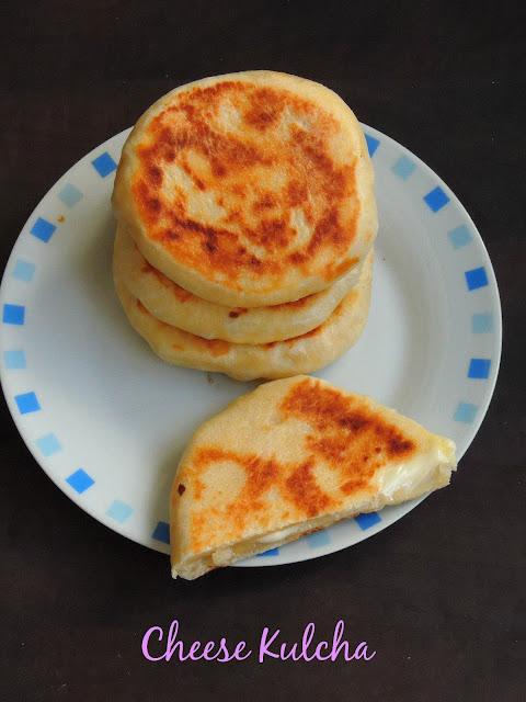 Cheesy Kulcha, Cheese Kulcha