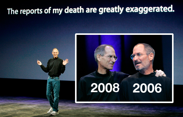 Steve Jobs is dead, but Apple doesn't want you to forget him