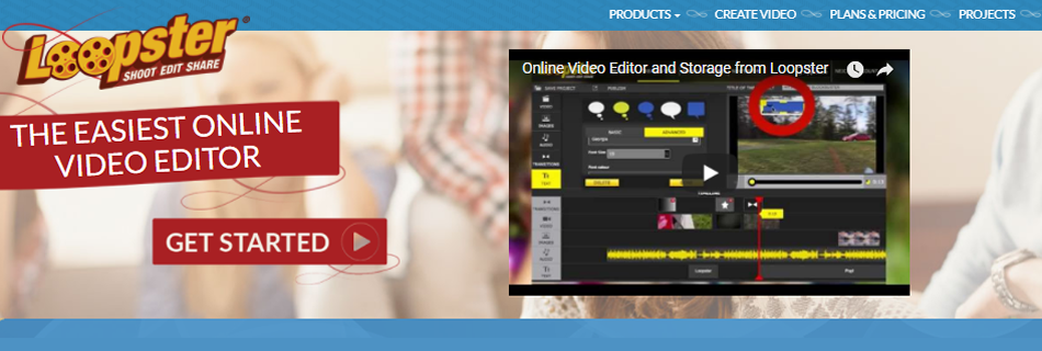 Anyone can use Loopster's free online video editor