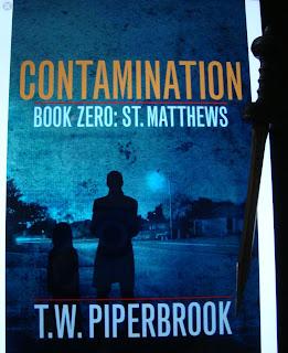 Portada del libro Contamination. Book Pero: St. Matthews, de T. W. Piperbrook