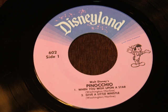 Maritime Vinyl Disneyland Records Pinocchio