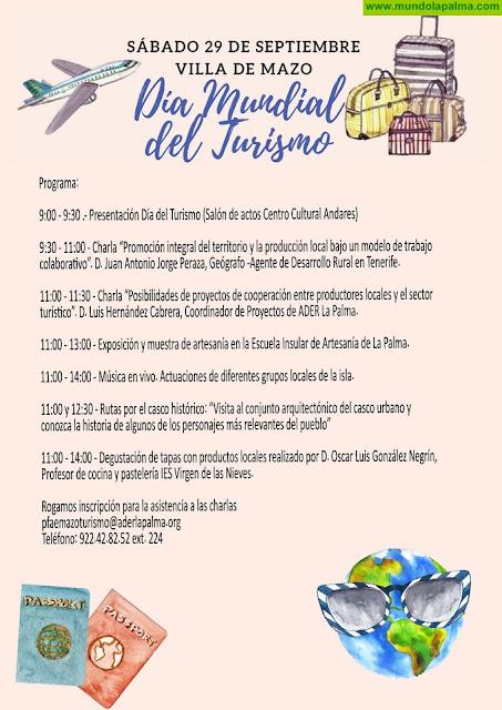 Villa de Mazo se une este sábado a las celebraciones con motivo del Día Mundial del Turismo