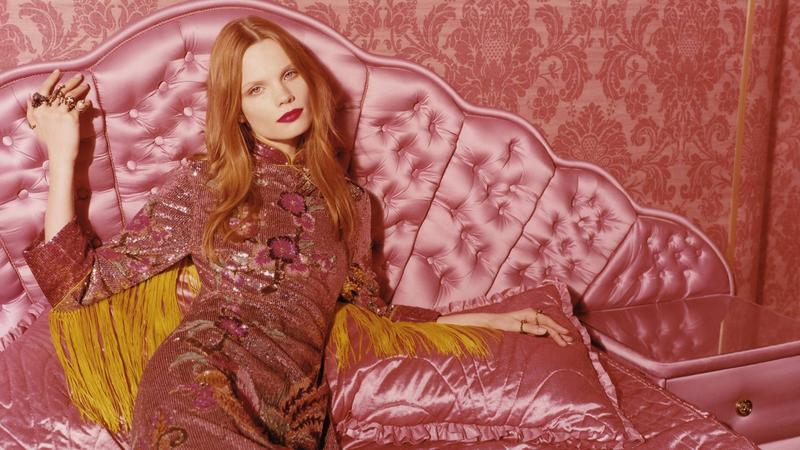 Gucci Beauty Autumn/Winter 2016 Color Collection Campaign