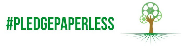 #PledgePaperless global campaign to go paperless on film and television productions