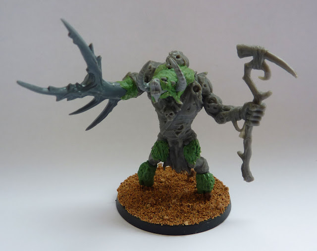 Sculpting and conversion work for Morghur, Master of Skulls