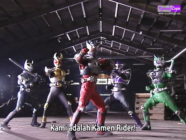 Kamen Rider Ryuki vs Agito HBV Subtitle Indonesia