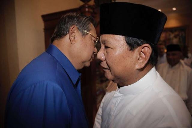 Prabowo Lebih Sering Temui SBY, Pengamat: SBY Punya Kunci