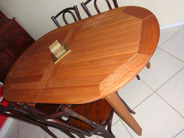 Nossa Mesa de Jantar da Meu Móvel de Madeira