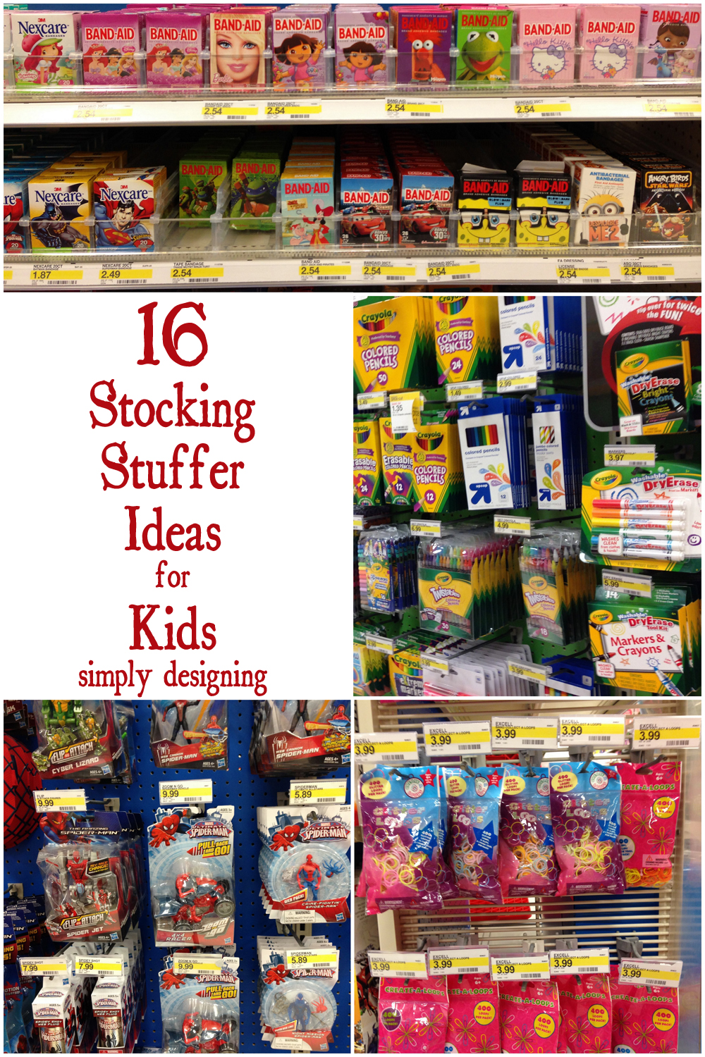 16 Stocking Stuffer Ideas for Kids | #christmas #stockingstuffers #mykindofholiday