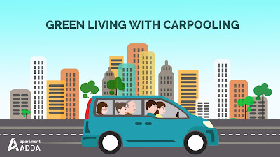 carpooling helps to reduce pollution