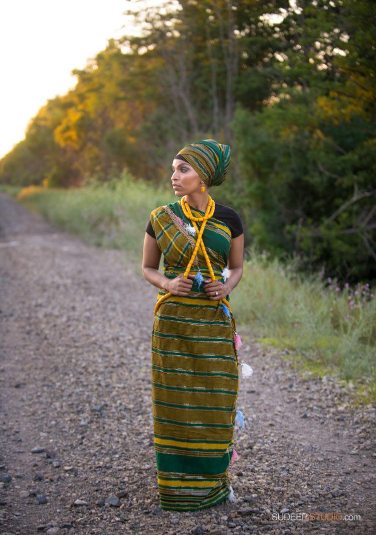 Portraits in African Ethnic Clothes Attire - SudeepStudio.com