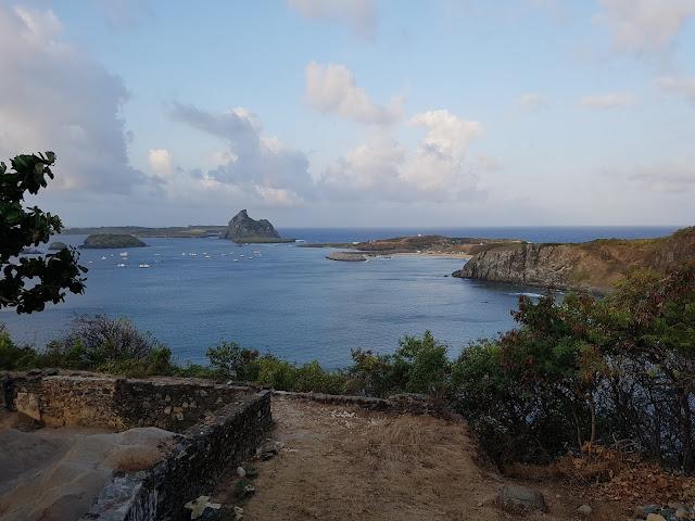 Vista do Forte Nossa Senhora da Conceição - Fernando de Noronha