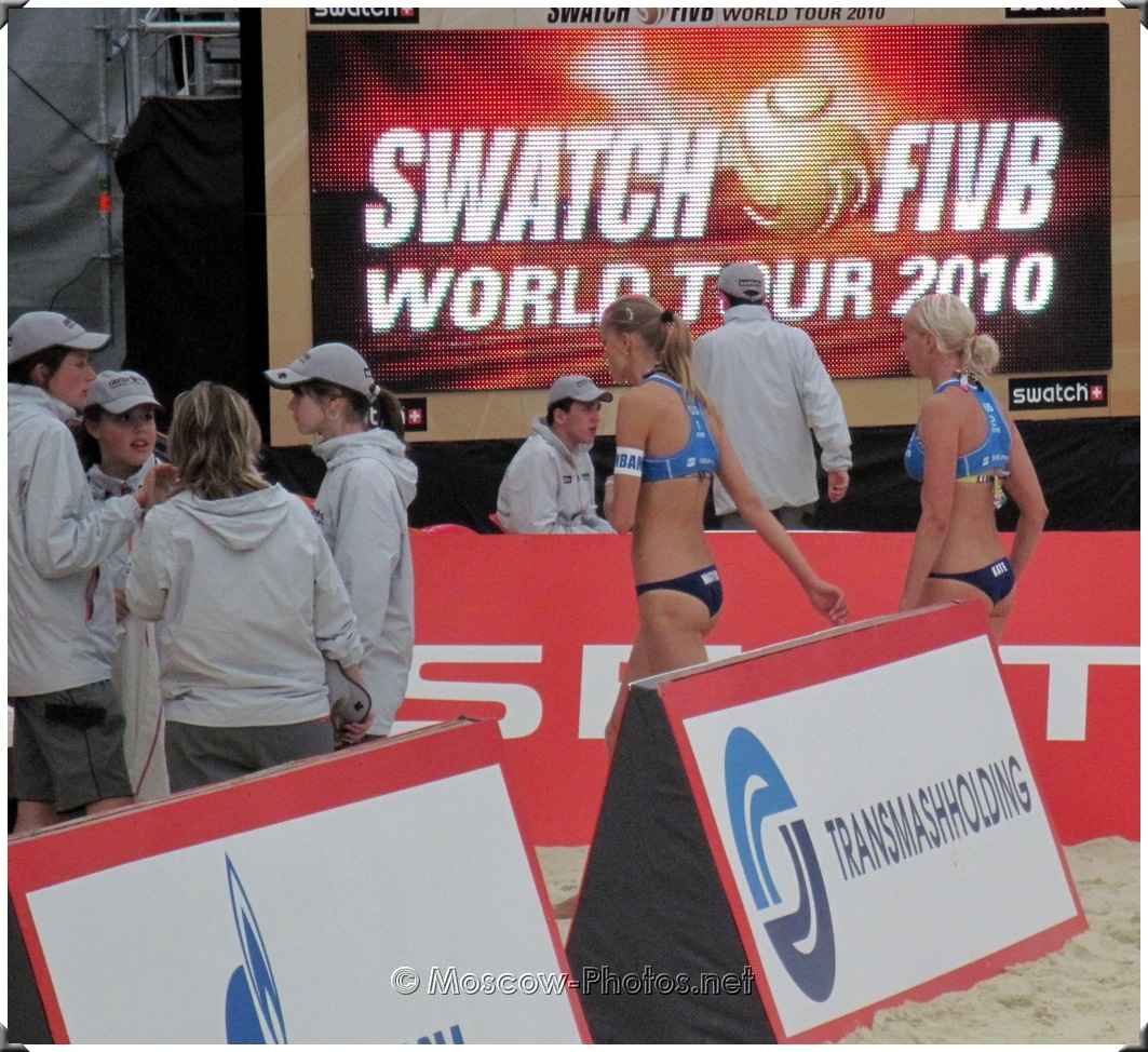 SWATCH FIVB Beach Volleyball World Tour, Moscow