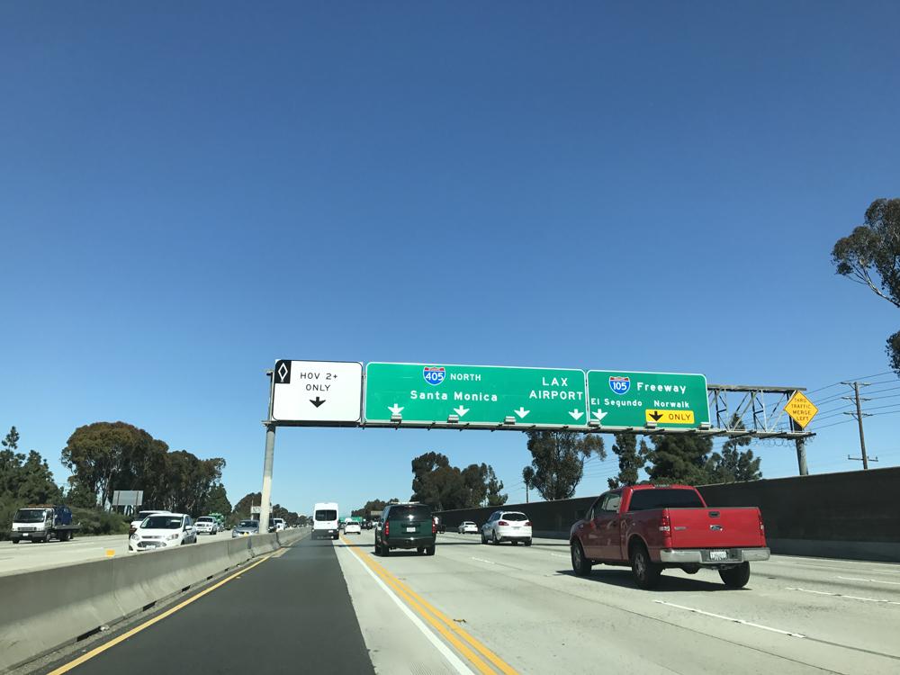Los Angeles -vinkit autoiluun pähkinänkuoressa 6