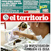 Tapa Diario El Territorio (Misiones) 12-03-2017
