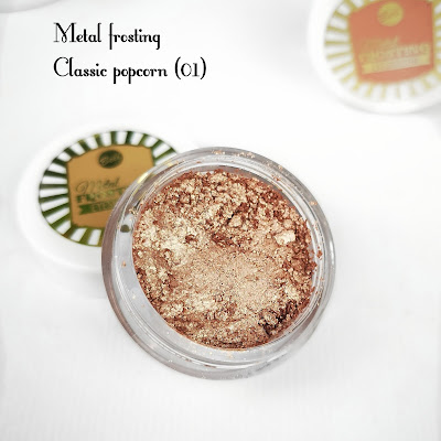 bell metal frosting classic popcorn