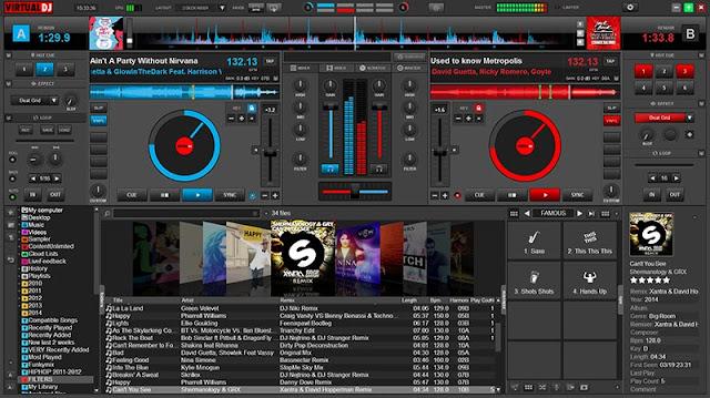 Virtual dj-Δωρεάν πρόγραμματα dj: μίξη μουσικής