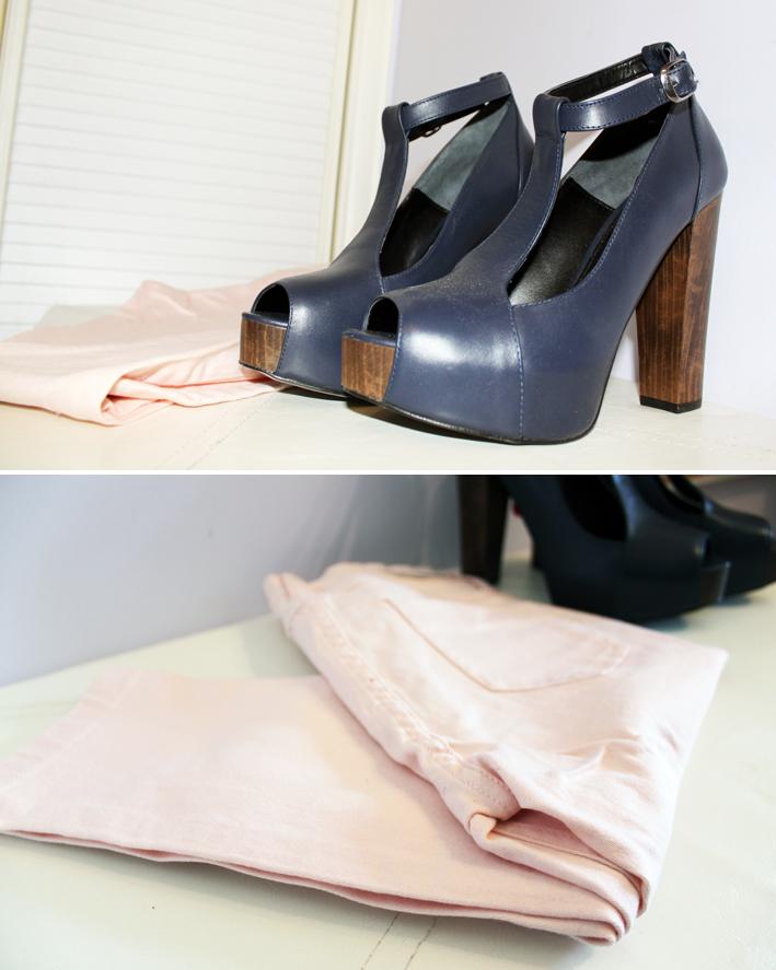 Sandalias Jeans  Stradivarius   Vestido  Zara   Sweater  Blanco 9b846446d17
