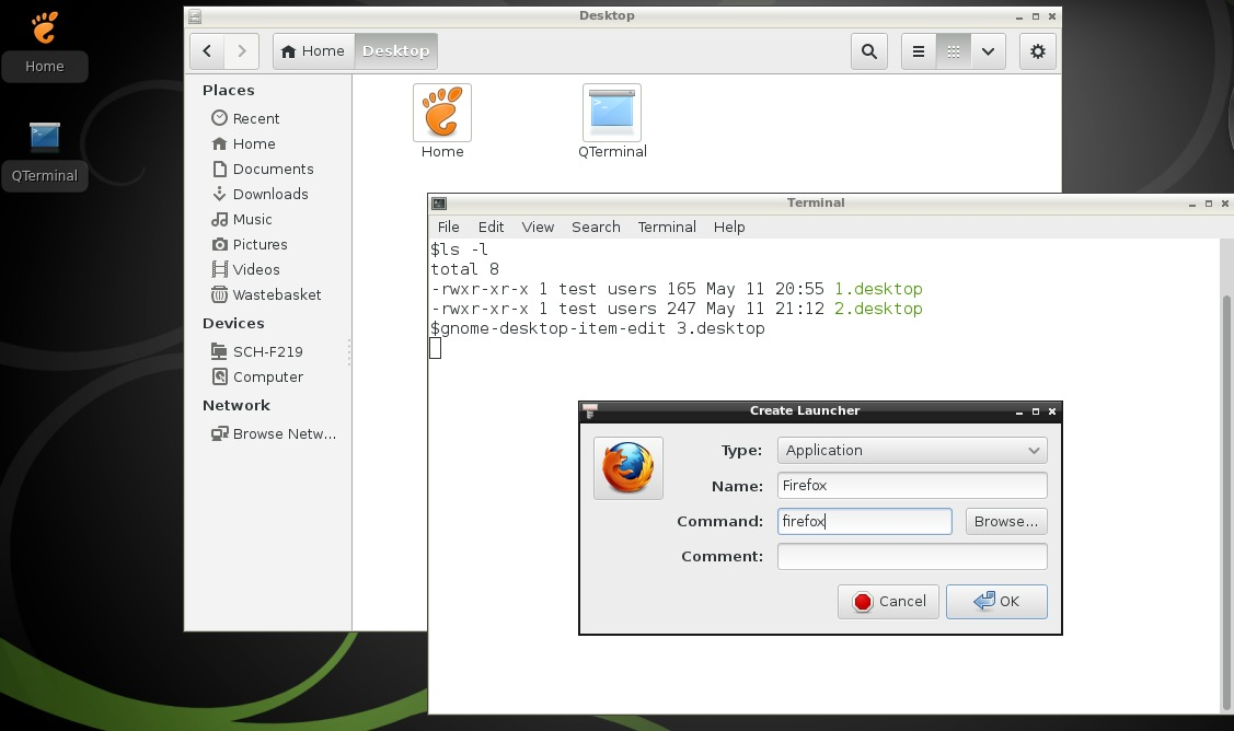 Ultra Random Thoughts: Razor-qt desktop on openSUSE 12 3