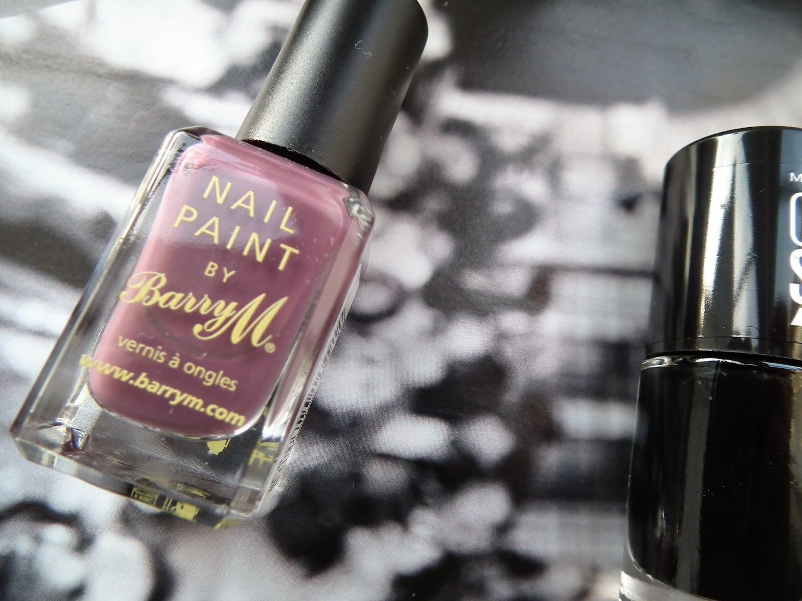 Barry M Vintage Violet Polish Autumn Winter Nails