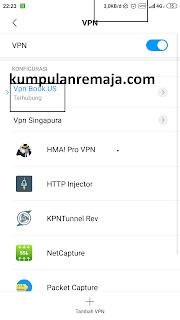 Terkoneksi ke VPN bawaan Android