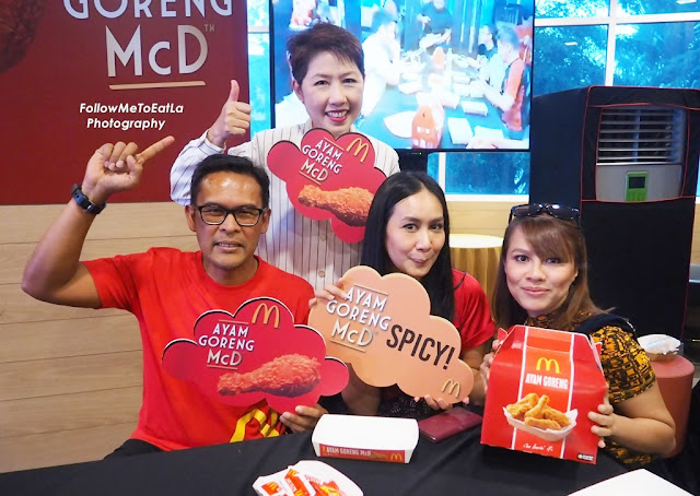 Happy Faces Of Azmir Jaafar, McDonald's Malaysia Managing Director, Comedian, Jihan Muse & Songstress, Marsha Milan
