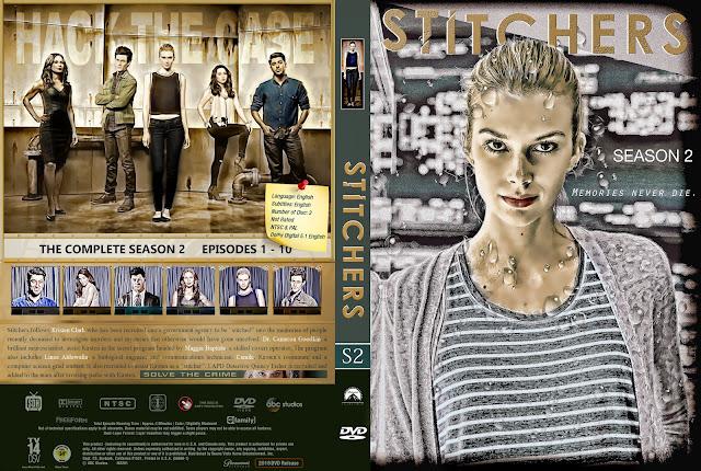 Capa DVD Stitchers Segunda Temporada Completa