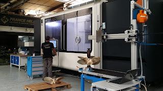 machine 5 axes france helices pour usinage matériel de précision