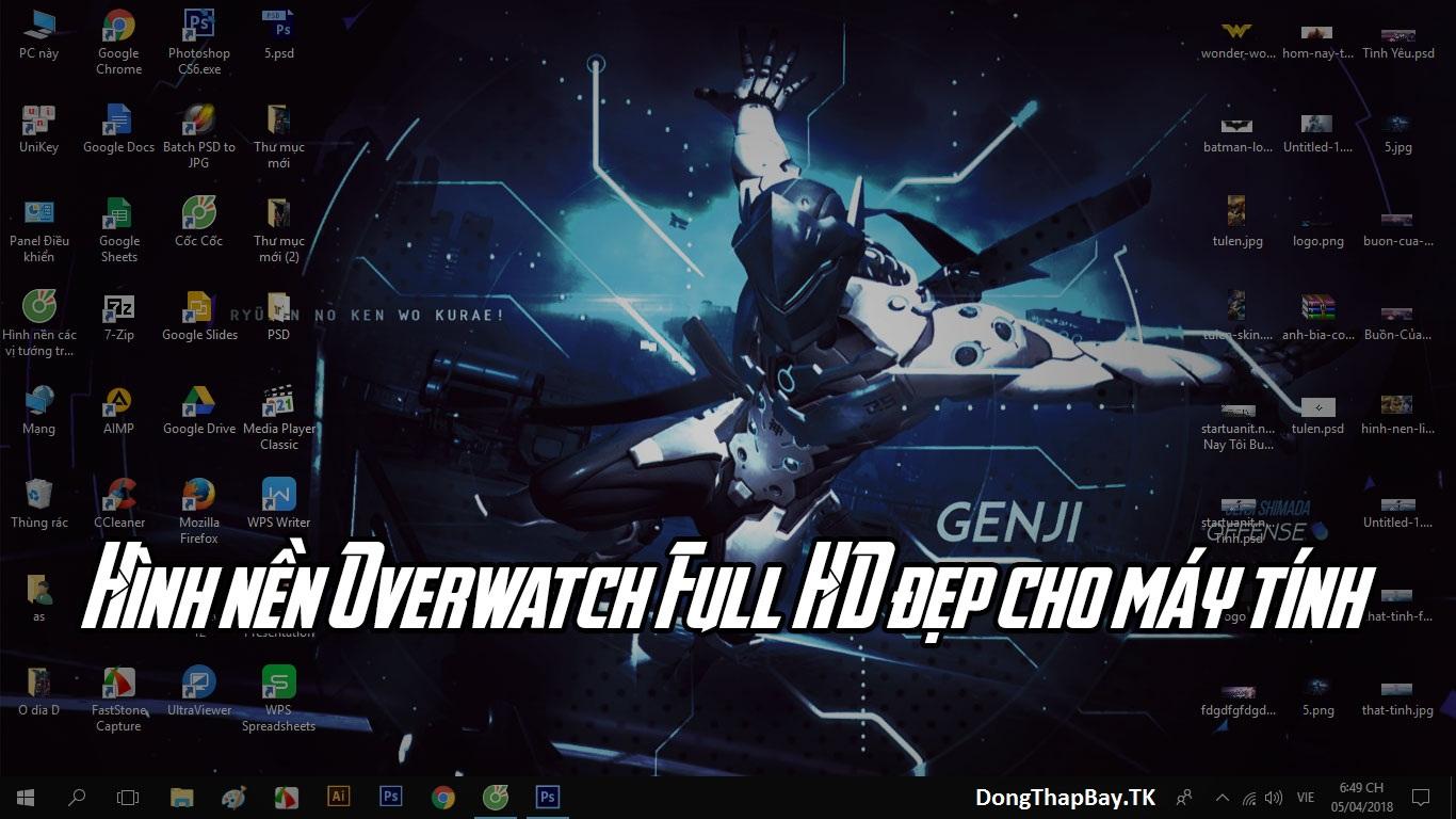 Tải hình nền Overwatch Full HD cực đẹp cho máy tính 2018