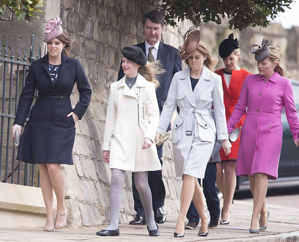 Queen Elizabeth II, Prince Philip, Duke of Edinburgh, Sophie, Countess of Wessex, Prince Edward, Earl of Wessex, Lady Louise Windsor, James Viscount Severn, Prince Andrew, Duke of York, Princess Eugenie, Princess Beatrice of York and Autumn Phillips, style royal british weddings, kate middleton